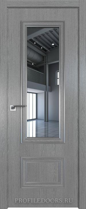 59ZN Грувд серый Зеркало Серебро ABS в цвет с 4-х сторон