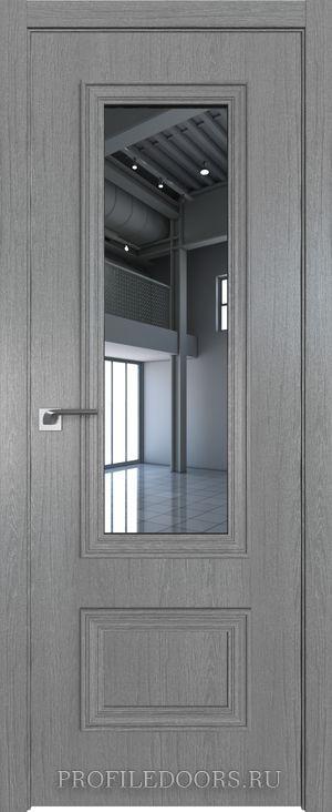 59ZN Грувд серый Зеркало в цвет двери ABS в цвет с 4-х сторон