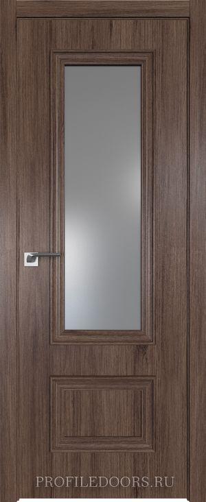 59ZN Салинас темный Lacobel Серебряный лак в цвет двери ABS в цвет с 4-х сторон