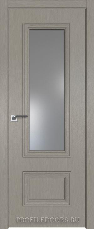59ZN Стоун Lacobel Серебряный лак в цвет двери ABS в цвет с 4-х сторон