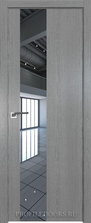 5ZN Грувд серый Зеркало ABS черная матовая с 4-х сторон