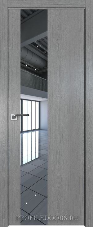 5ZN Грувд серый Зеркало Матовая с 4-х сторон