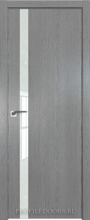 6ZN Грувд серый Lacobel Белый лак ABS в цвет с 4-х сторон