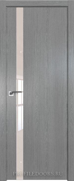 6ZN Грувд серый Lacobel Перламутровый лак ABS в цвет с 4-х сторон
