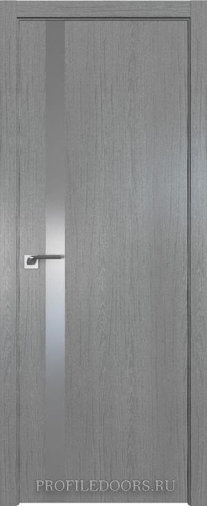 6ZN Грувд серый Lacobel Серебряный лак ABS черная матовая с 4-х сторон