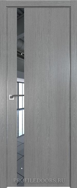 6ZN Грувд серый Зеркало Матовая с 4-х сторон