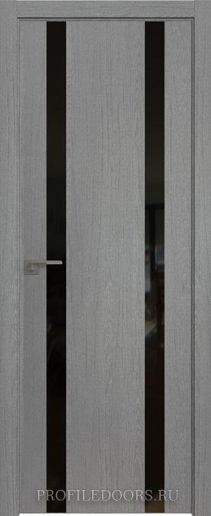 9ZN Грувд серый Lacobel Черный лак ABS черная матовая с 4-х сторон