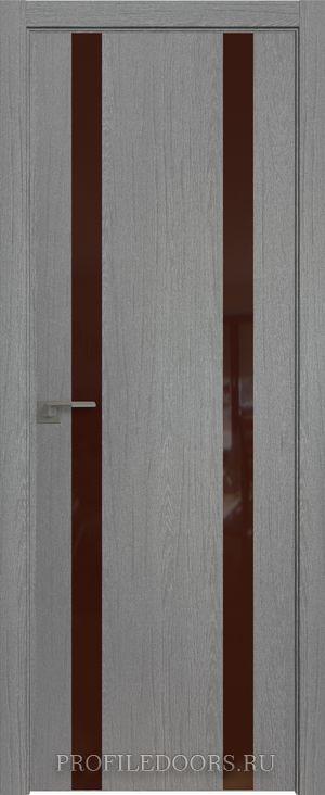 9ZN Грувд серый Lacobel Коричневый лак ABS черная матовая с 4-х сторон