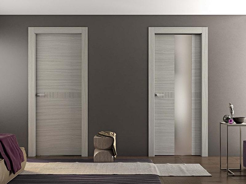 Натуральный шпон межкомнатной двери