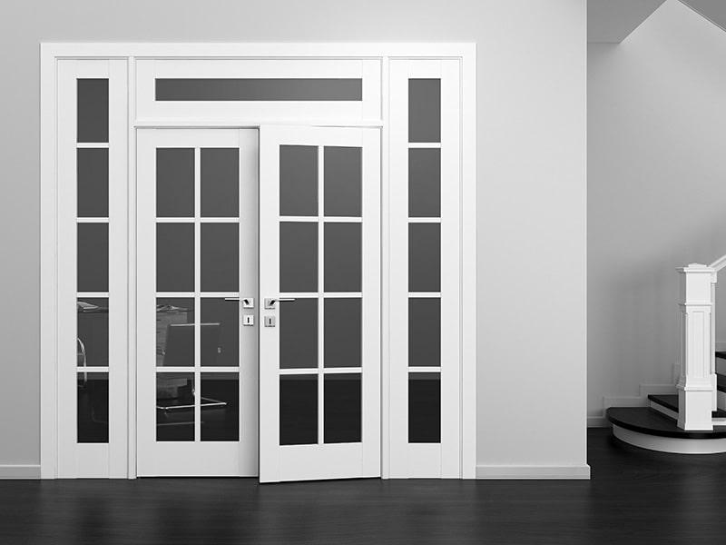 Особенности двустворчатых межкомнатных дверей рассмотрим их виды.