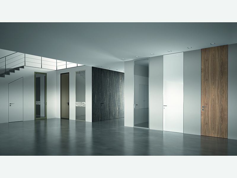 Варианты скрытой двери в интерьере