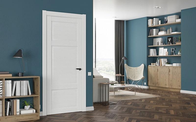 Широкая межкомнатная дверь