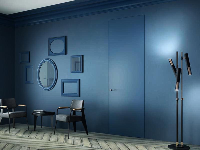 Скрытая-невидимая дверь в цвет стен