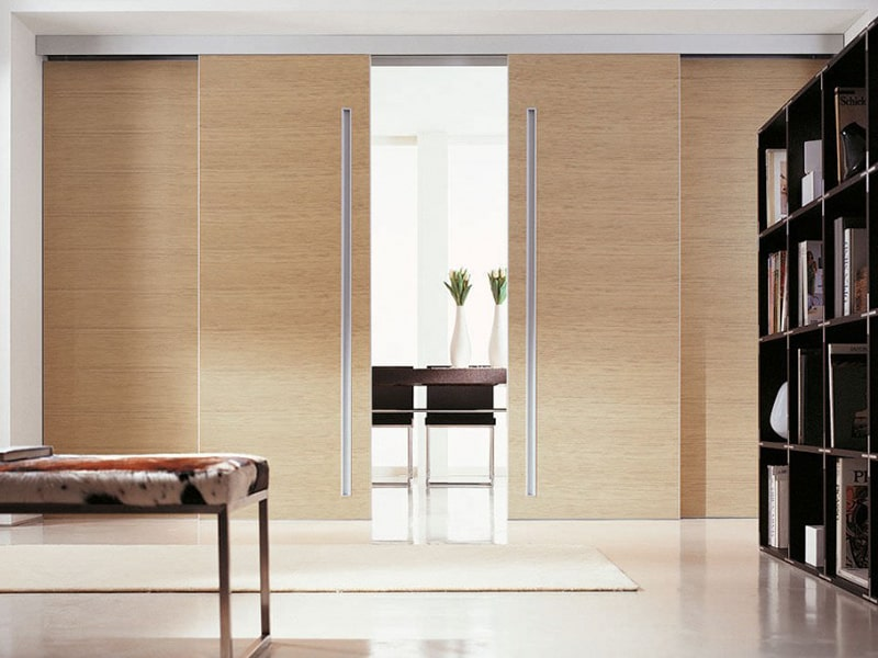 Скрытые (невидимые) двухстворчатые двери