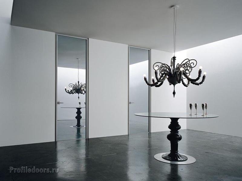 Достоинства скрытых (невидимых) дверей с зеркалом. Почему стоит выбрать скрытую дверь с зеркалом?
