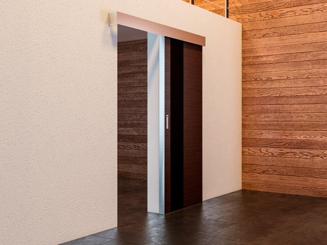 межкомнатная дверь Купе открытая
