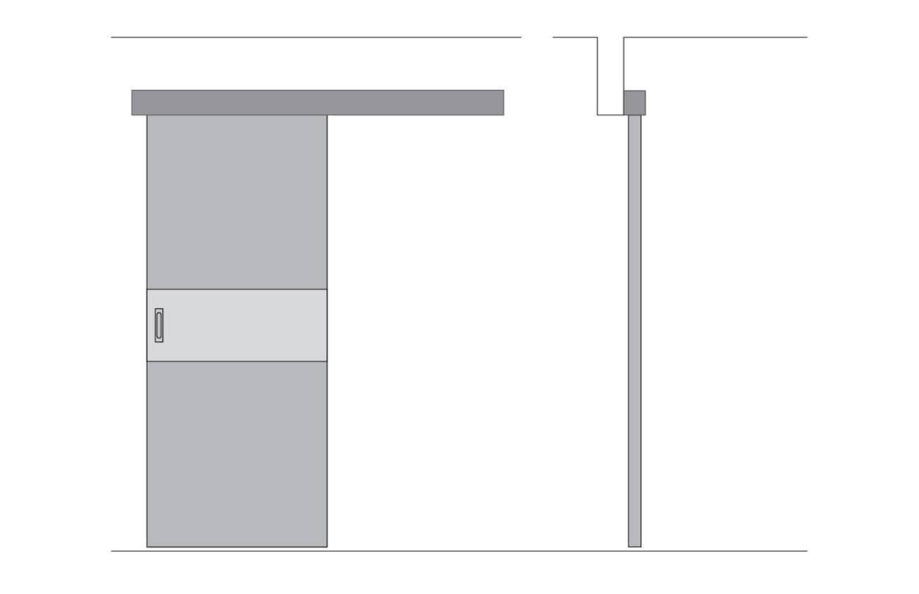 Короб дверей Купе
