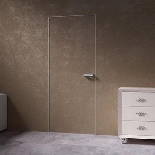 Дизайн системы открывания Invisible одна дверь