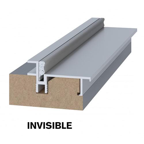 Скрытая дверь Invisible короб